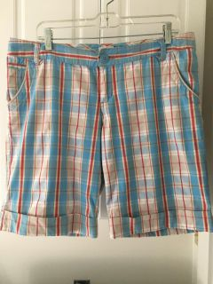 Mossimo Plaid Shorts Sz 13 ( See Other Photos)@