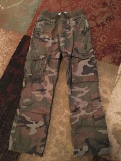 Old navy lg 10/12 straight camo pants - ppu (near old chemstrand & 29) or PU @ the Marcus Pointe Thrift Store (on W st)
