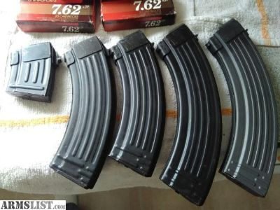 For Sale: AK mags and ammo