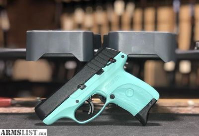 For Sale: TURQUOISE RUGER EC9S 9mm $275