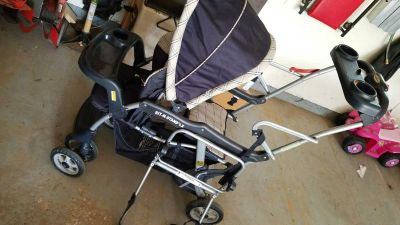 Sit n Stand stroller