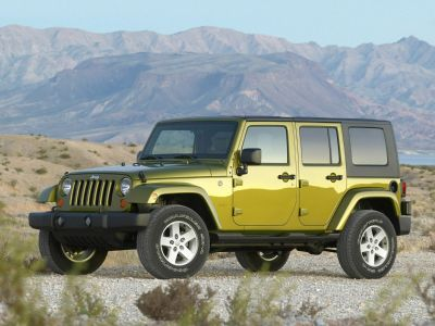 2009 Jeep Wrangler Unlimited X (Black)