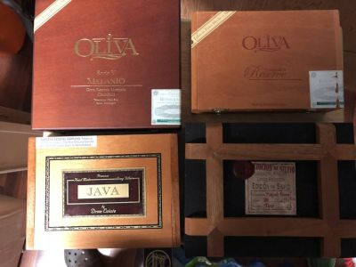 17 Wood Cigar Boxes