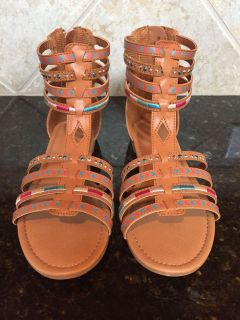 Cat and Jack Girls Size 4 Sandals. NEW. $7. Quick pick up behind YMCA