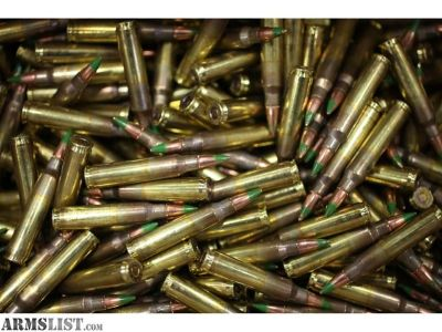 For Sale: 900 rounds of Federal 5.56mm green tips (xm855)