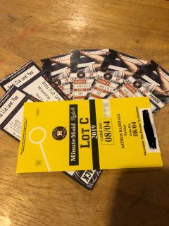 Astro tickets for (Sunday Aug 4th) Vs Mariners