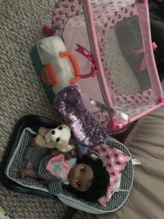 Perfect Doll Set for Little Girl