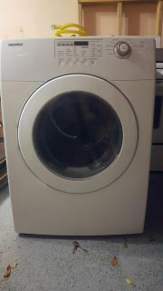 Samsung Gas Dryer, front load