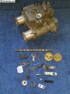 Italian Weber 40 DCOE side draft carb carburetor