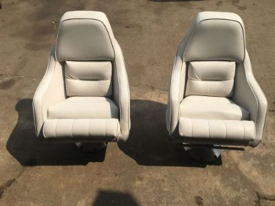 Purchase 1982 Celebrity Boat Seats - Buckets - SHIPS FREIGHT TRUCK ONLY motorcycle in Houston, Texas, United States, for US $300.00