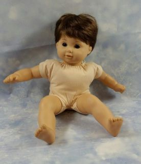 American Girl Bitty Baby Twin Doll Brown Hair Eyes - Retired Collectors Item - Ready To Be Loved By