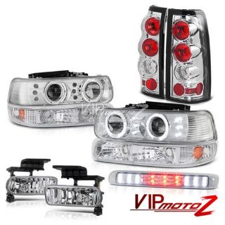 Sell 99-02 Silverado Projector Headlight Parking Signal Tail Lamp Fog High Stop Cargo motorcycle in Walnut, California, United States, for US $272.43