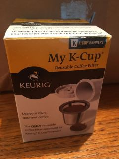 My K-Cup reusable coffee filter - flash sale
