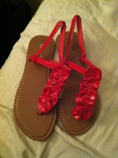 Size 6 Wet Seal sandals NEW