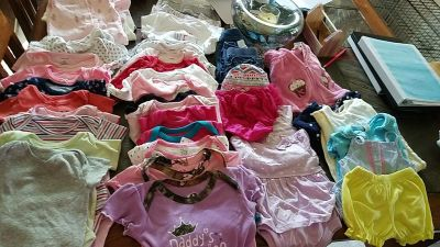 Size 3 to 6 month girls clothing