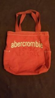 Red Abercrombie Tote Bag