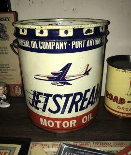 Jetstream 2 Gallon Motor Oil Bucket Can