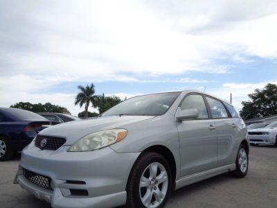 2003 Toyota Matrix XRS (Silver)