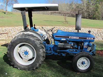 TRACTOR FORD 2810 SERIES, 2WD, LOW HOURS, ...