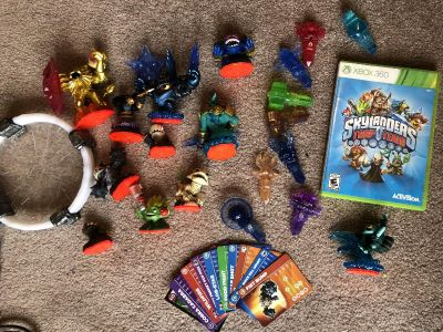 Sky landers trap team Xbox 360 game -rated E everyone