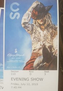 Calgary Stampede Grandstand tickets AMAZING SEATS!