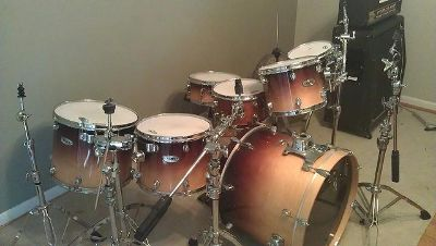 Mapex Pro M Drum Kit w Wood Finish