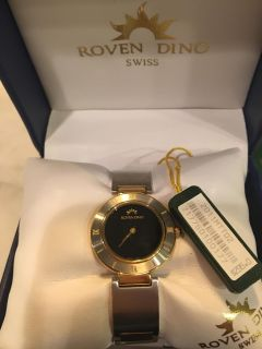 Roven Dino Swiss watch New with tags