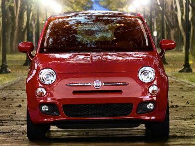 2012 Fiat 500 Pop (Argento (Silver))
