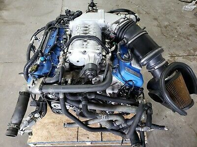 14 Mustang GT500 Shelby 5.8 Supercharged Engine TR 6060 6spd