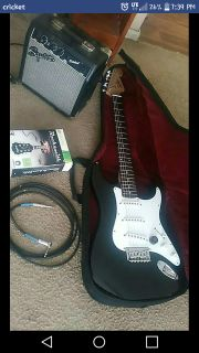 Fender guitar, and rocksmith for xbox 360