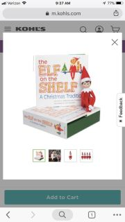 ELF ON THE SHELF NEW IN BOX WITH BOOK