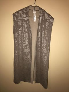 Gorgeous, Like New Long Vest From Chico s. Slide Left for add. pic