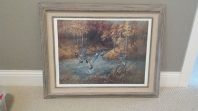 Wildlife Print - Ducks Unlimited Print