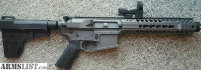 For Sale/Trade: Head Down Provectus Aluminum billet AR pistol
