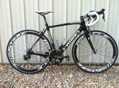 2012 Specialized S-Works Tarmac SL4 DI2 Bike Electronic Dura Ace 54cm