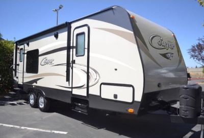2016 Keystone Cougar Half-Ton Travel Trailer 24SABWE