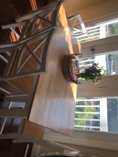 5 pieces dining table