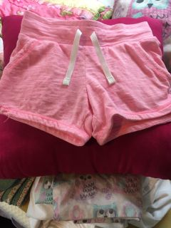 Cute pink Cat and Jack shorts