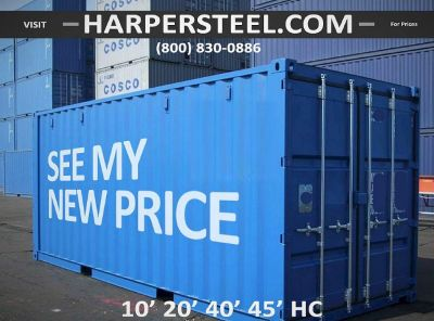 Steel Shipping Containers Portland Area - Largest Selection W/Delivery Options!