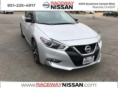 2018 Nissan Maxima SV (Brilliant Silver)