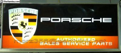 [WTB] Wanted...Old Porsche Dealership Illuminated Sign