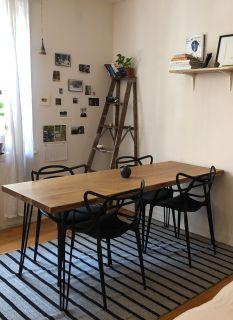 Custom made Oak dining table