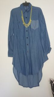 Denim Dress/Tunic Size 2X