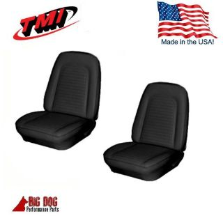 Find 1969 Camaro Front Bucket Seat, Rear Seat Upholstery Black Vinyl Seat Covers, TMI motorcycle in Los Angeles, California, United States, for US $279.99