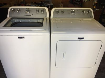 Maytag Bravos HE Washer and Dryer Set