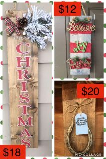 Rustic Christmas gifts