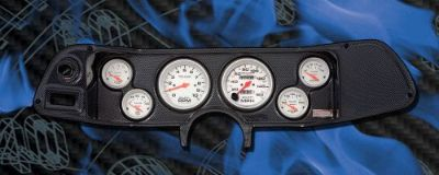 Sell 70-78 Camaro Carbon Fiber Dash Panel with Ultra Lite Gauges motorcycle in Lake Elsinore, California, United States, for US $800.00