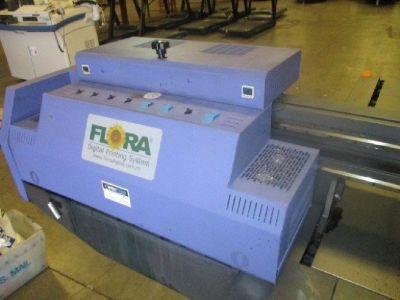 Flora 2512 UV Flatbed Printer RTR# 9023901-01