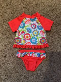 18 Month Floral Swimsuit