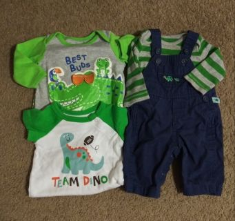 Cute mixed baby boy clothes lot